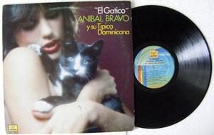 ANIBAL BRAVO Y SU TIPICA DOMINICANA El Gatico K 40013 Usa LP 1983