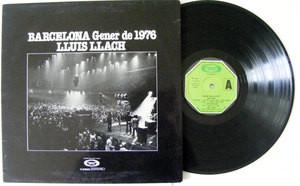 LLUIS LLACH Barcelona Gener De 1976 MOVIE PLAY 17083 LP 1976
