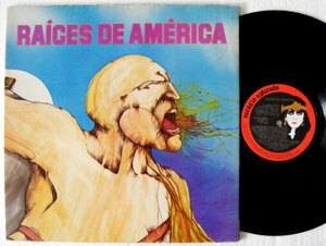 RAICES DE AMERICA Eldorado 381 Brasil Folk LP 1980