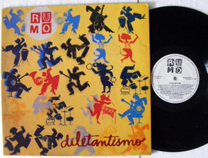 RUMO Diletantismo CONTINENTAL 130404010 BRAZIL LP 1983 NM