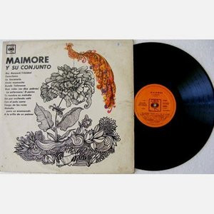 MAIMORE Y SU CONJUNTO Rare CUBAN TROPICAL MUSIC Promo LP