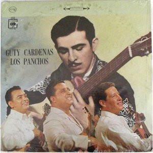 LOS PANCHOS Guty Cardenas CBS DCS-186 MEXICO LP Mint