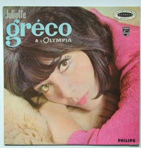JULIETTE GRECO A L'Olympia PHILIPS 70342 FRENCH Mono LP NM