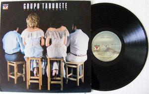 GRUPO TABURETE Velvet 2015 VENEZUELA LP 1982