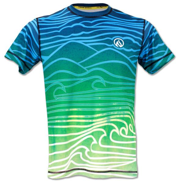 INKnBURN Mens Athletic Shirt Flow - Front