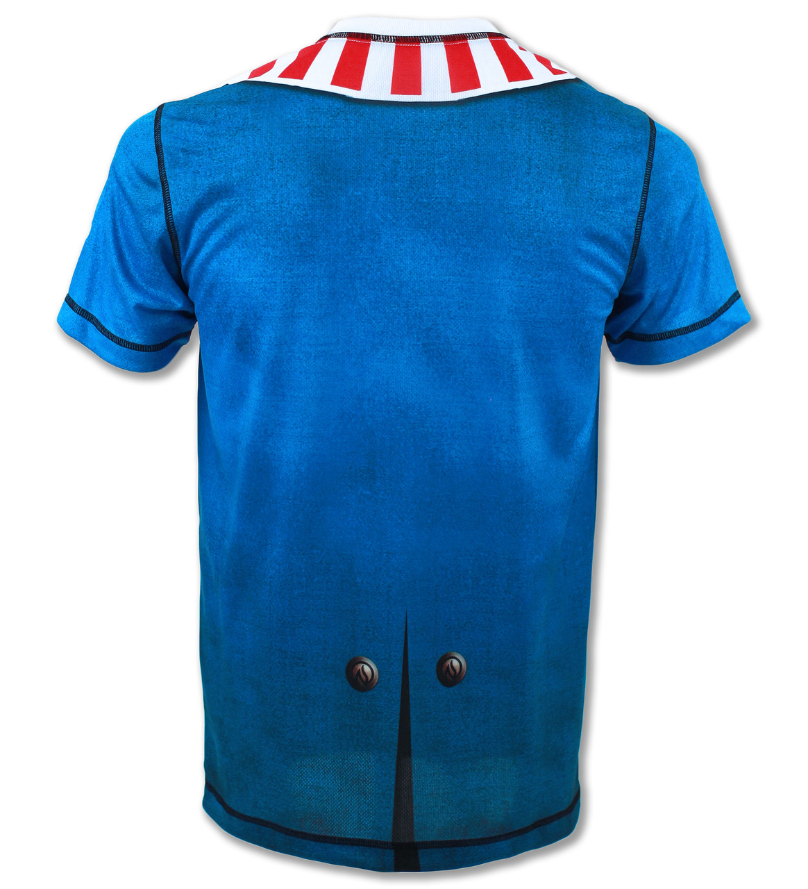 INKnBURN Mens Sam Running Shirt - Back