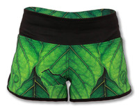 """INKnBURN """"A New Leaf"""" Shorts Front View Waistband Up"""