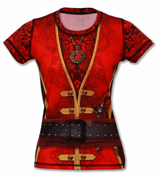 INKnBURN Women's Pirate Tech Shirt Front