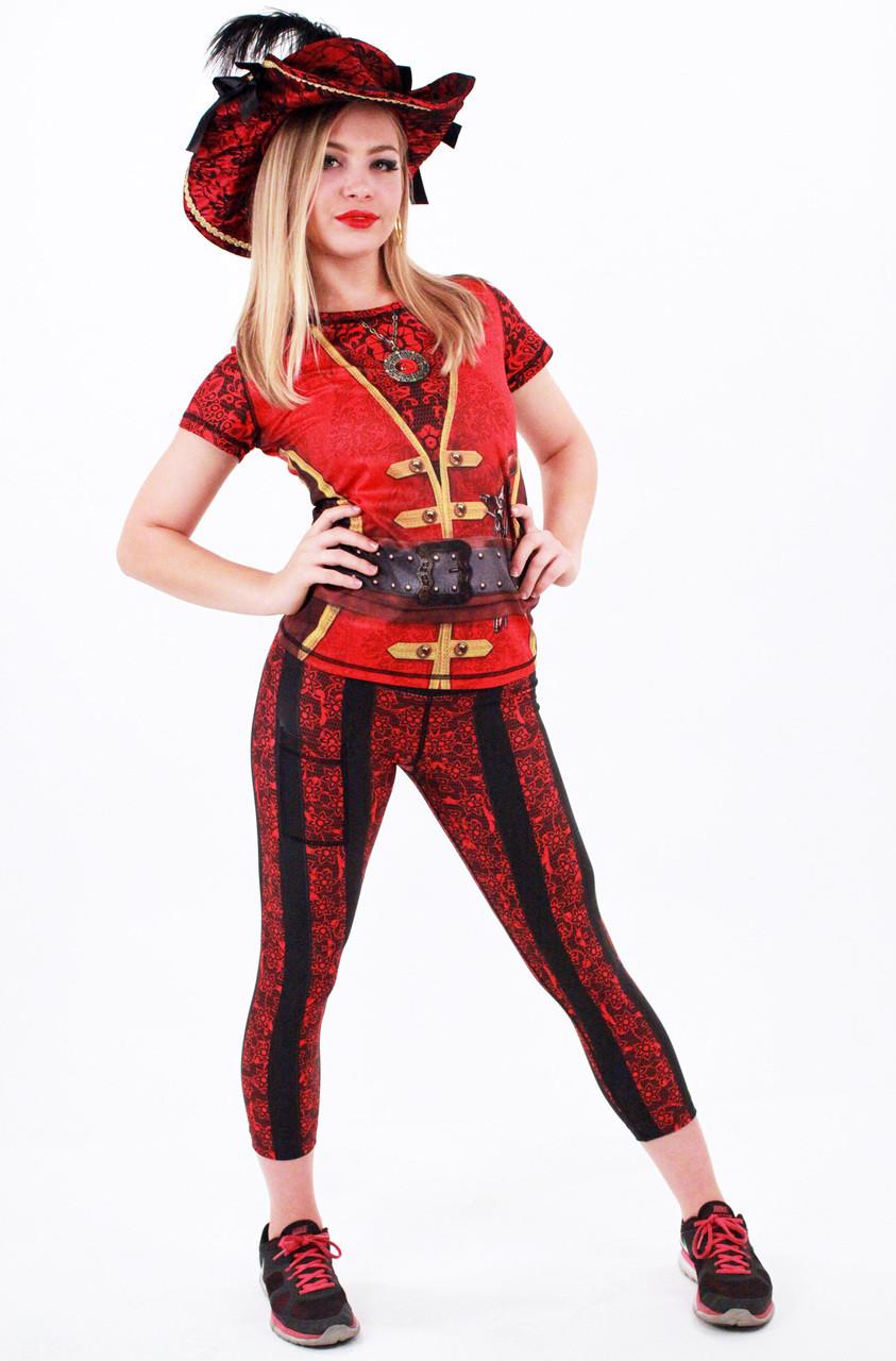 INKnBURN Women's Pirate Kit Front