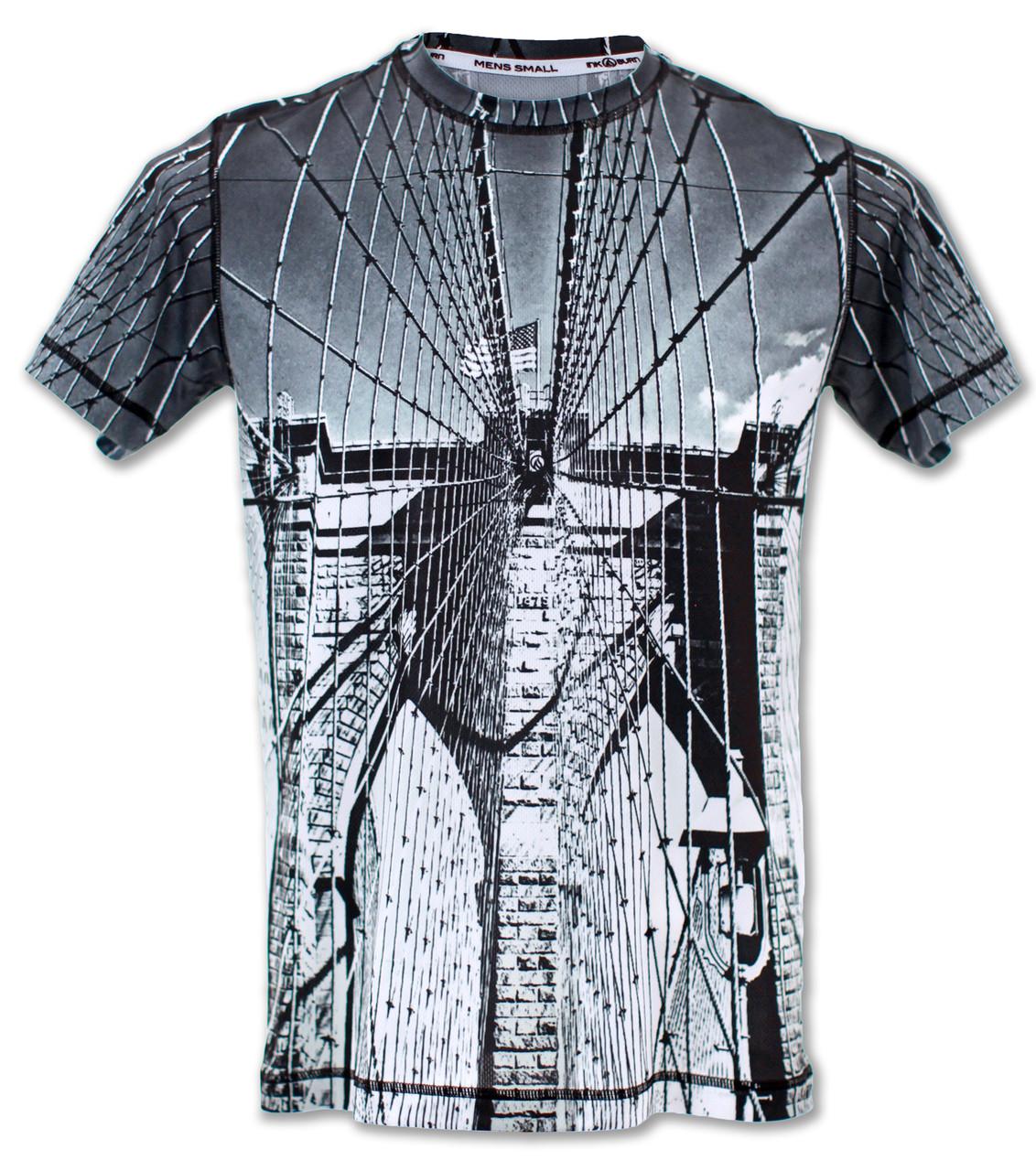 INKnBURN Men's Tribute Tech Shirt Front