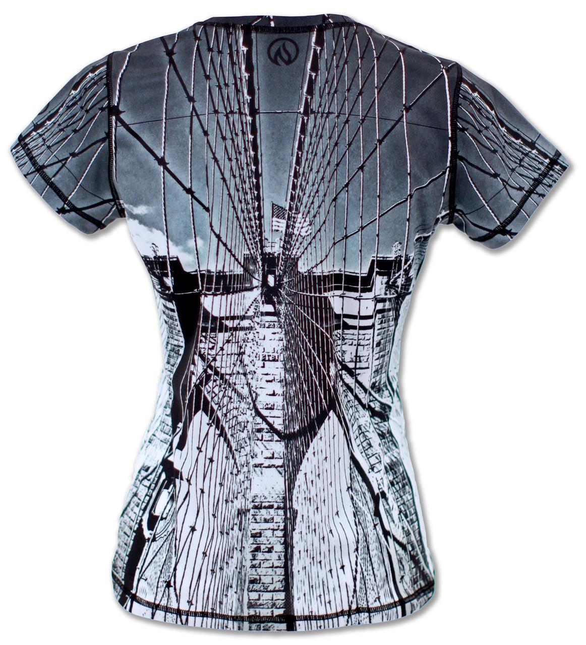 INKnBURN Women's Tribute Tech Shirt Back