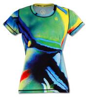 INKnBURN Women's Trigger Tech Shirt Front