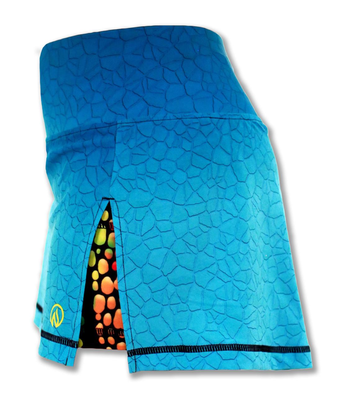 INKnBURN Women's Sport Skirt Left Side Waistband Up