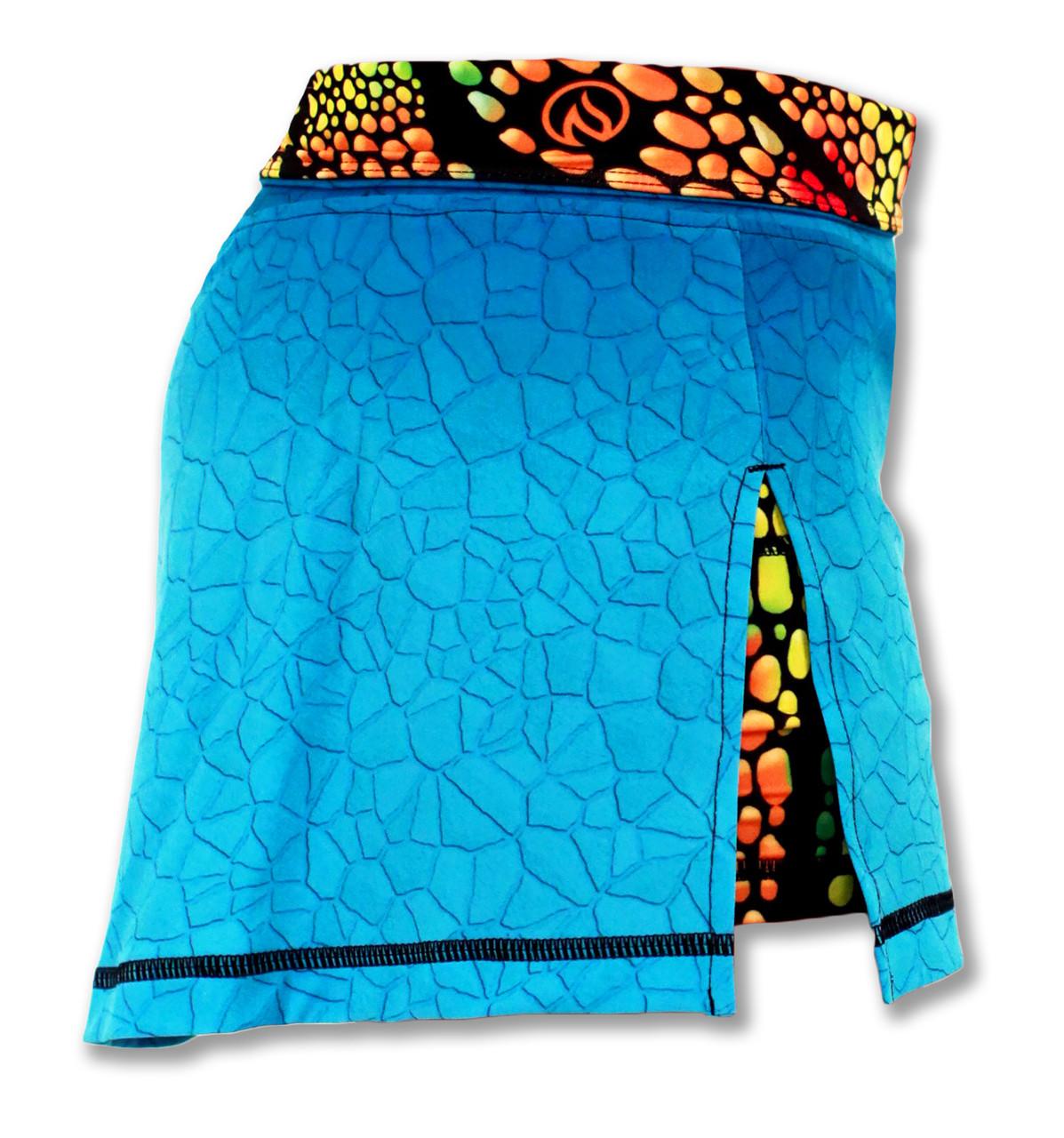 INKnBURN Women's Sport Skirt Right Side Waistband Folded Down