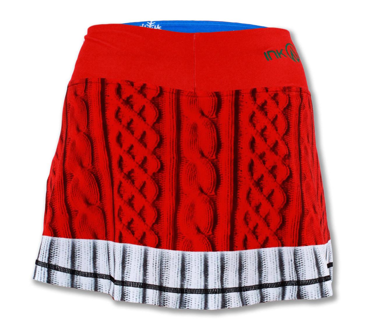 INKnBURN Women's Sport Skirt Back Waistband Up