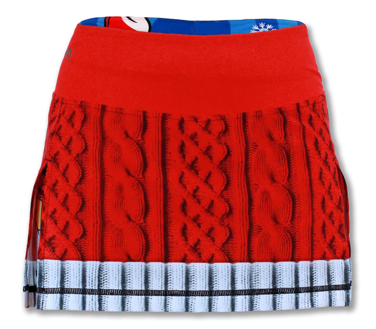 INKnBURN Women's Sport Skirt Front Waistband Up