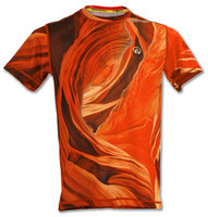 INKnBURN Men's Sandstone Tech Shirt Front