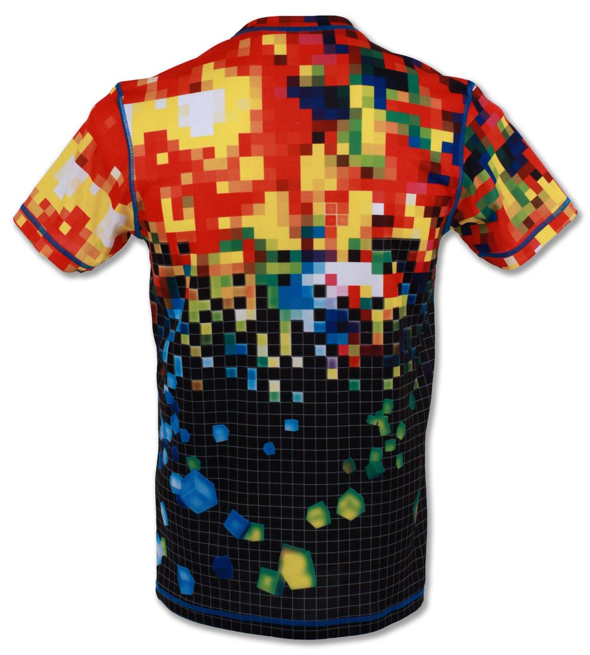 INKnBURN Men's Pixel Tech Shirt Back