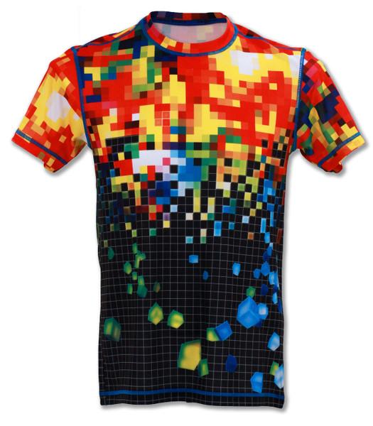 INKnBURN Men's Pixel Tech Shirt Front