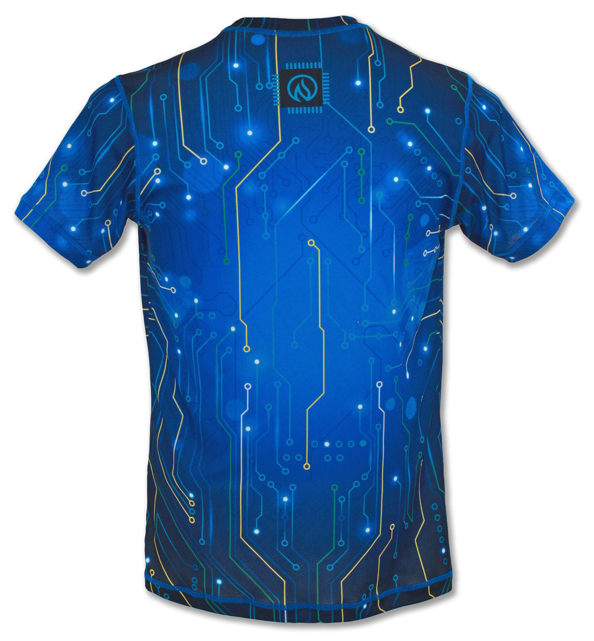 INKnBURN Men's Circuit Tech Shirt Back