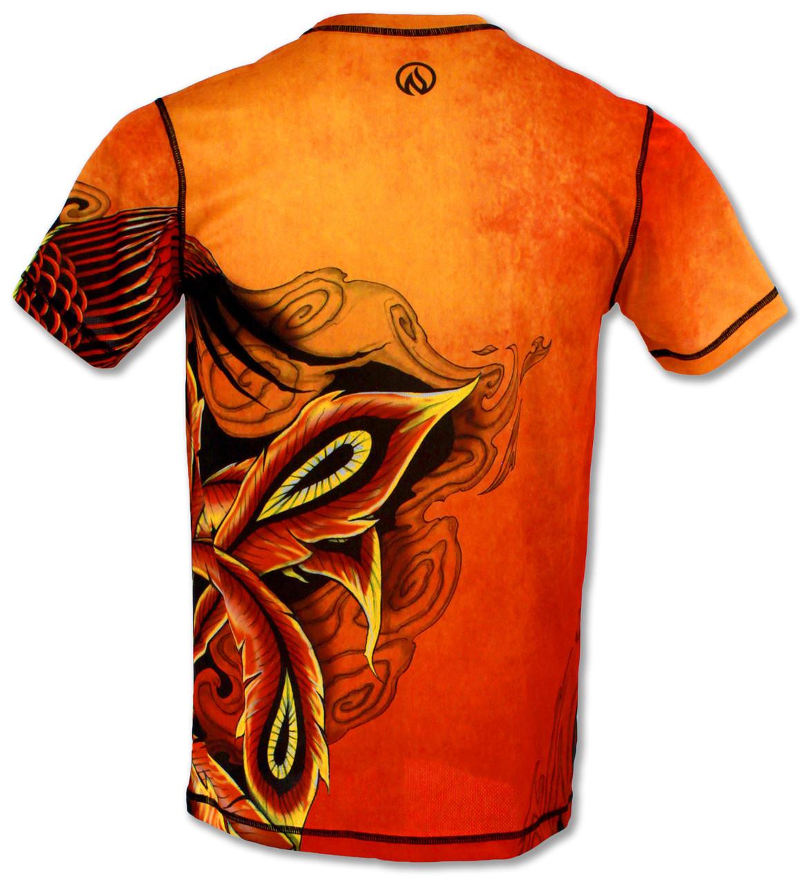 INKnBURN Men's Phoenix Tech Shirt Back