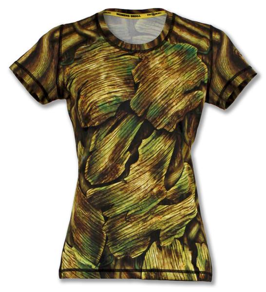 INKnBURN Women's Shady Tech Shirt Front