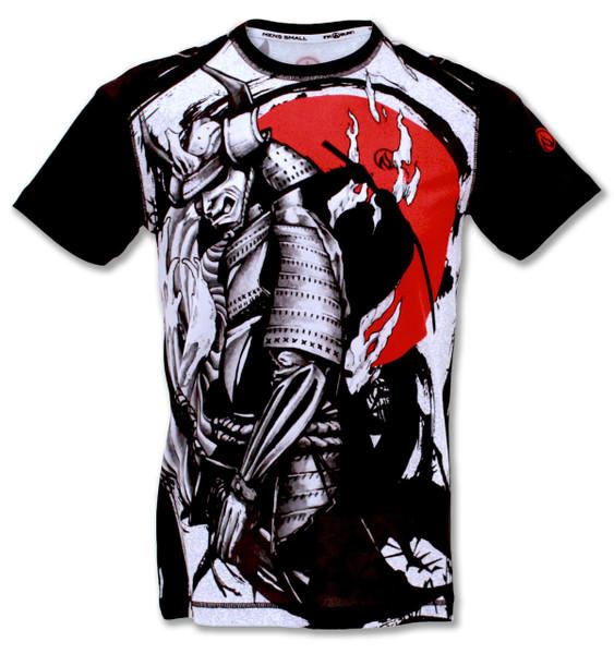 INKnBURN Men's Samurai Tech Shirt Front