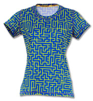 INKnBURN Women's Be A Mazed Tech Shirt Front