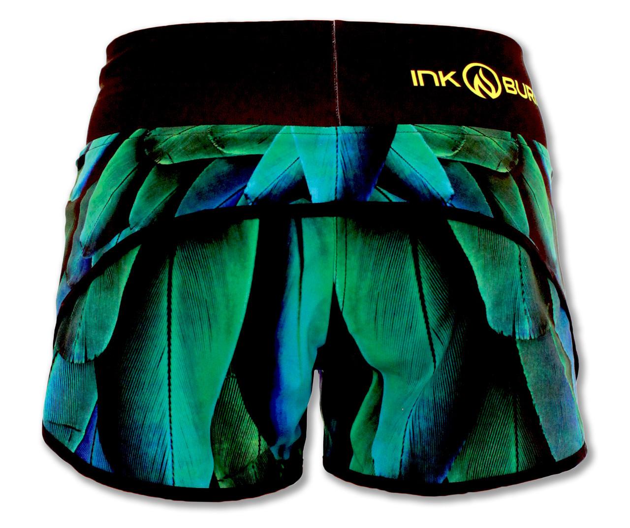 INKnBURN Wing Shorts Back Waistband Up