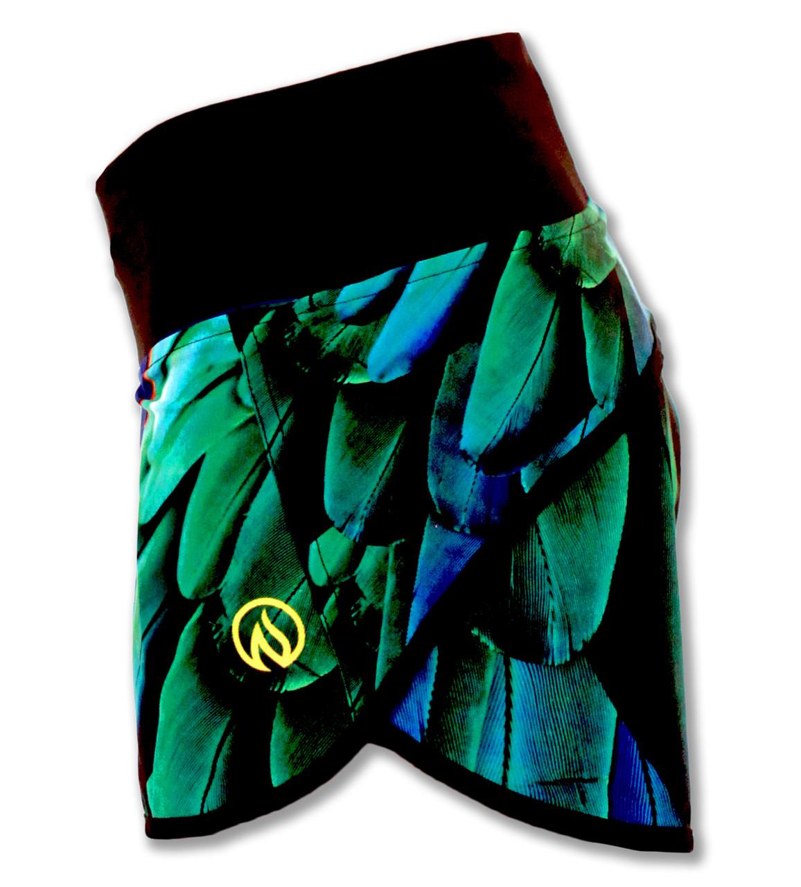 INKnBURN Wing Shorts Left Side Waistband Up