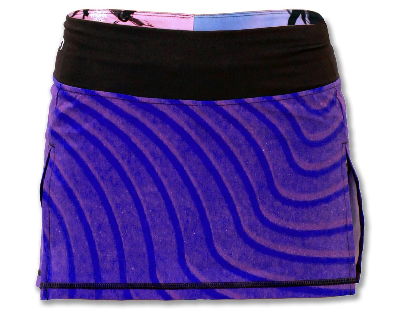 INKnBURN Women's Zen Sport Skirt Front Waistband Up