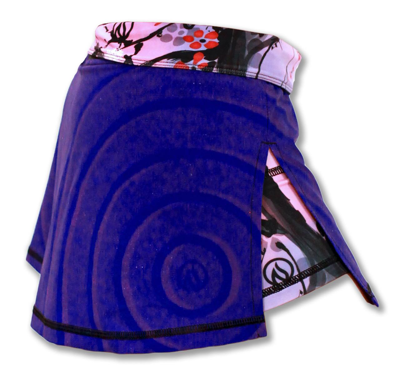 INKnBURN Women's Zen Sport Skirt Right Side Waistband Folded Down