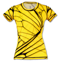 INKnBURN Women's Bee Tech Shirt Front