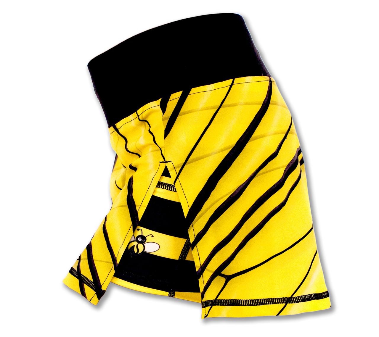 INKnBURN Women's Bee Sport Skirt Left Side Waistband Up