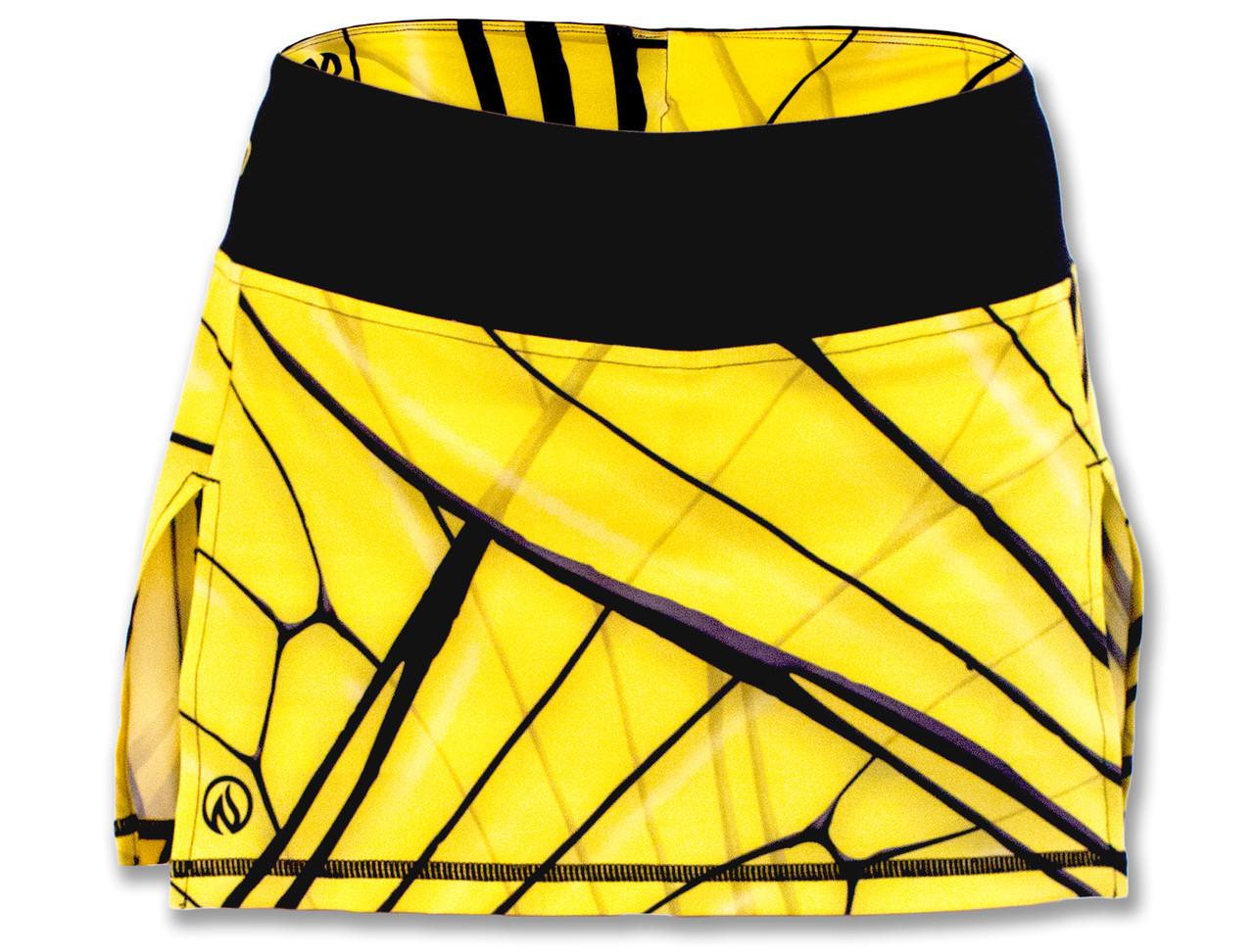 INKnBURN Women's Bee Sport Skirt Front Waistband Up