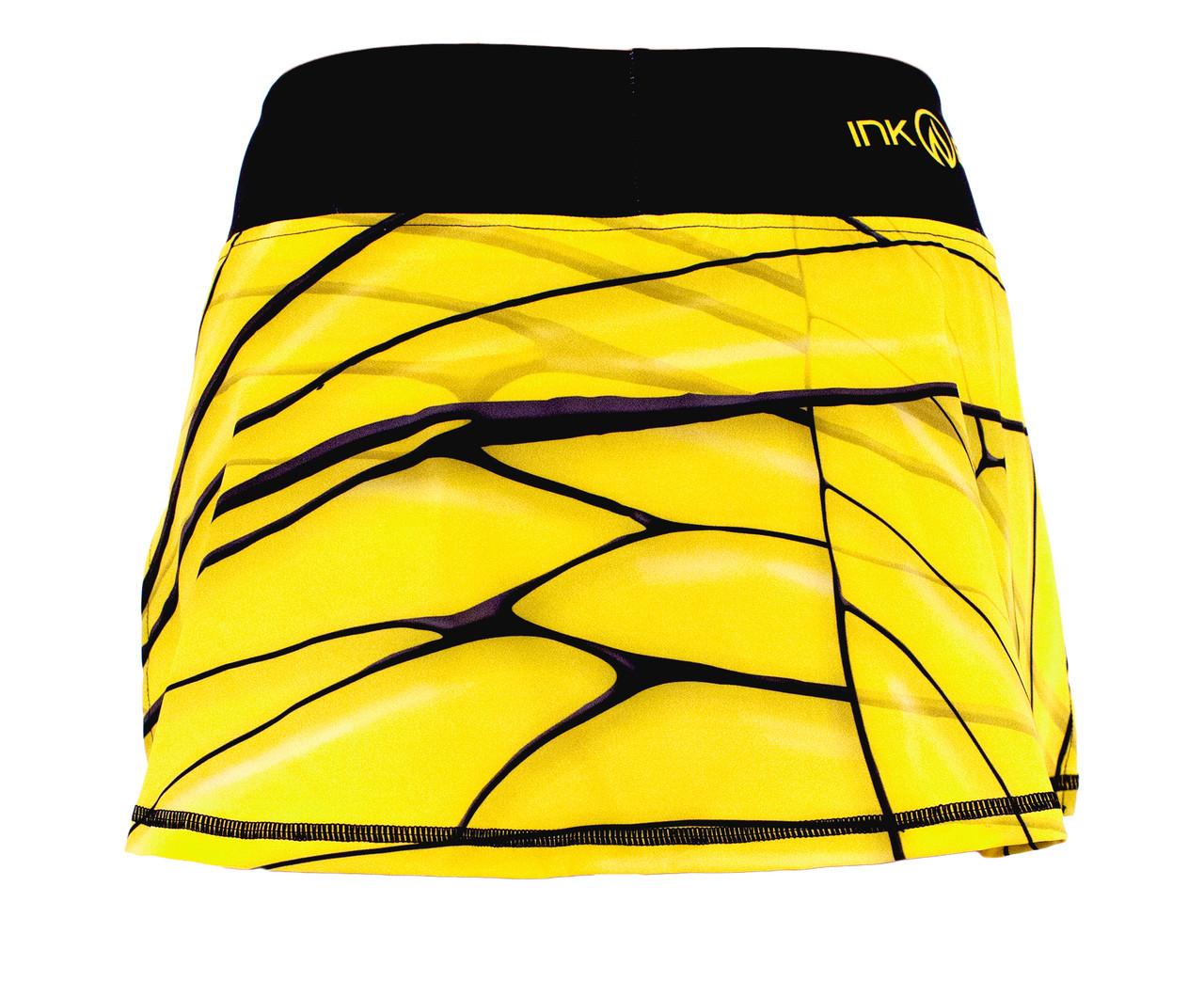 INKnBURN Women's Bee Sport Skirt Back Waistband Up
