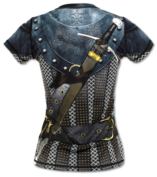 INKnBURN Women's Medieval Tech Shirt Back