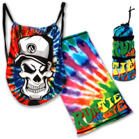 Run or Tie Dye Drop Bag, Tech Tube and Hand Held