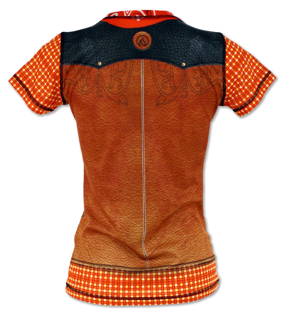 INKnBURN Women's Western Tech Shirt Back