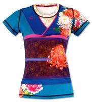 INKnBURN Women's Kimono Tech Shirt Front