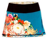 INKnBURN Women's Kimono Sport Skirt Front Waistband Up