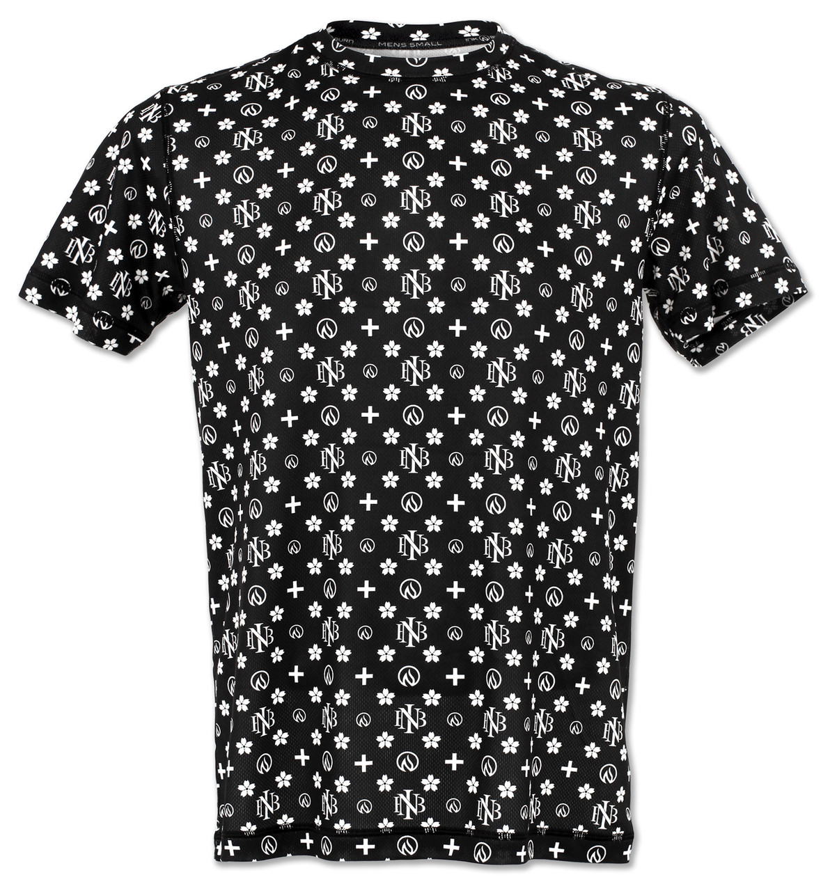 INKnBURN Men's Club INB Monogram Tech Shirt Front