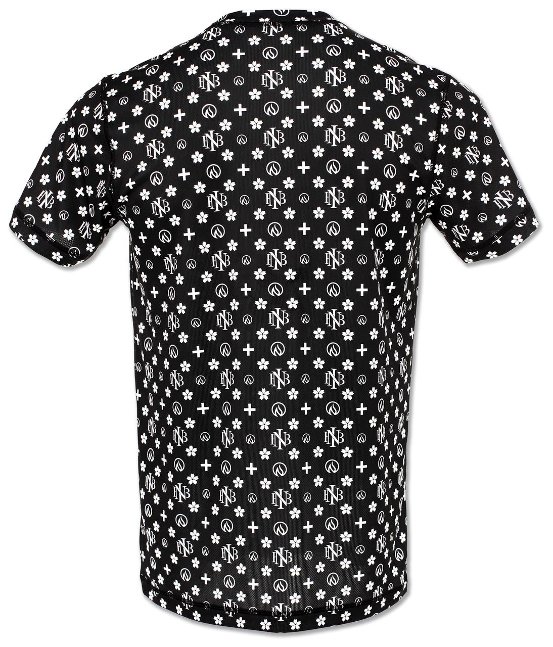 INKnBURN Men's Club INB Monogram Tech Shirt Back