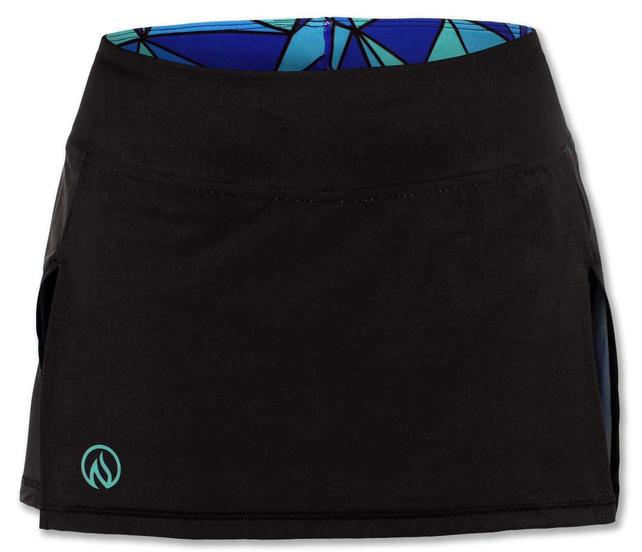 INKnBURN Women's ISO Sport Skirt Front Waistband Up