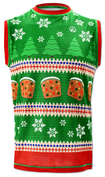 INKnBURN Men's Fruitcake Sweater Vest Front