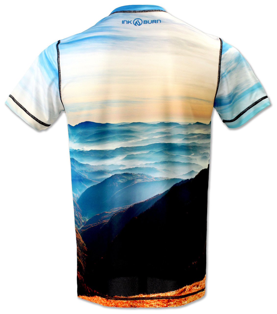 INKnBURN Men's Majestic Tech Shirt Back