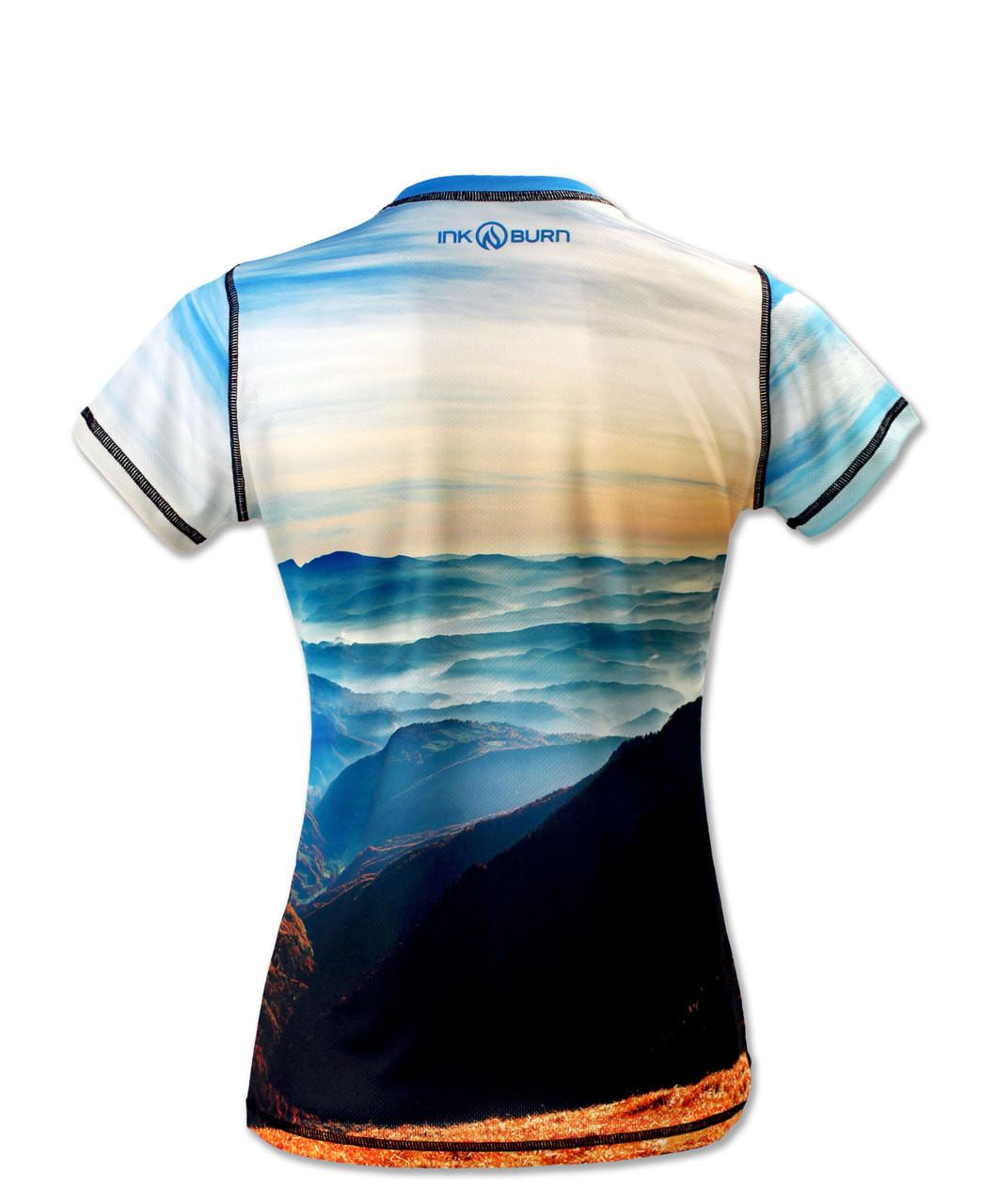 INKnBURN Women's Ascent Tech Shirt Back