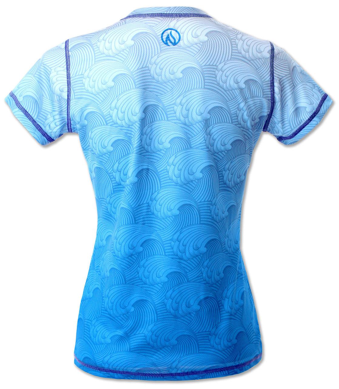 INKnBURN Women's Dragon's Gate Tech Shirt Back