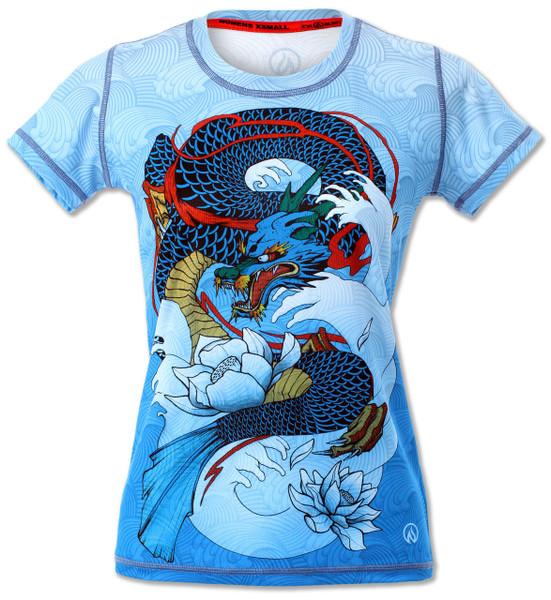 INKnBURN Women's Dragon's Gate Tech Shirt Front