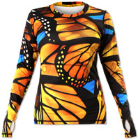 INKnBURN Women's Monarch Pullover with Thumbholes Front